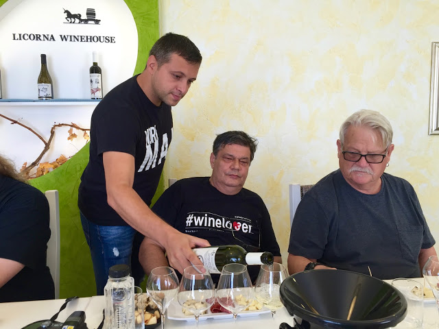 Winelovers visit Licorna Winehouse, Dealu Mare
